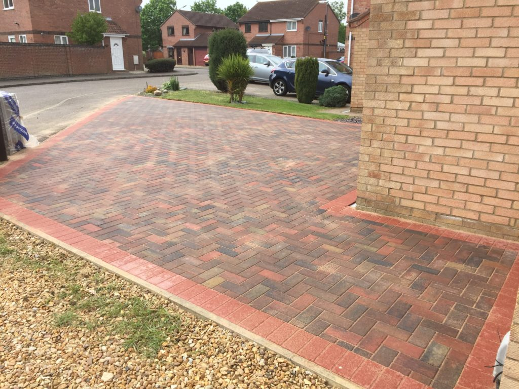 Block Paved Driveway in Peterborough