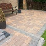 Rear Garden Block Paving Hampton