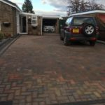 (After) Block Paved Driveway in Whittlesey