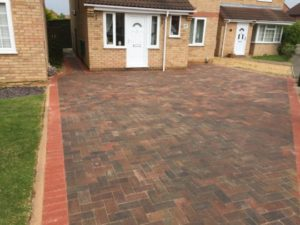 Newly Installed Block Paving