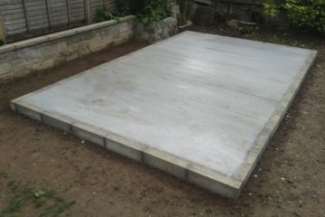 Shed and Garden Room Bases