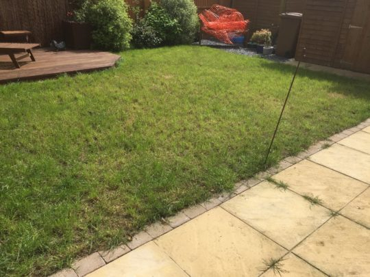 Before New Patio Extension