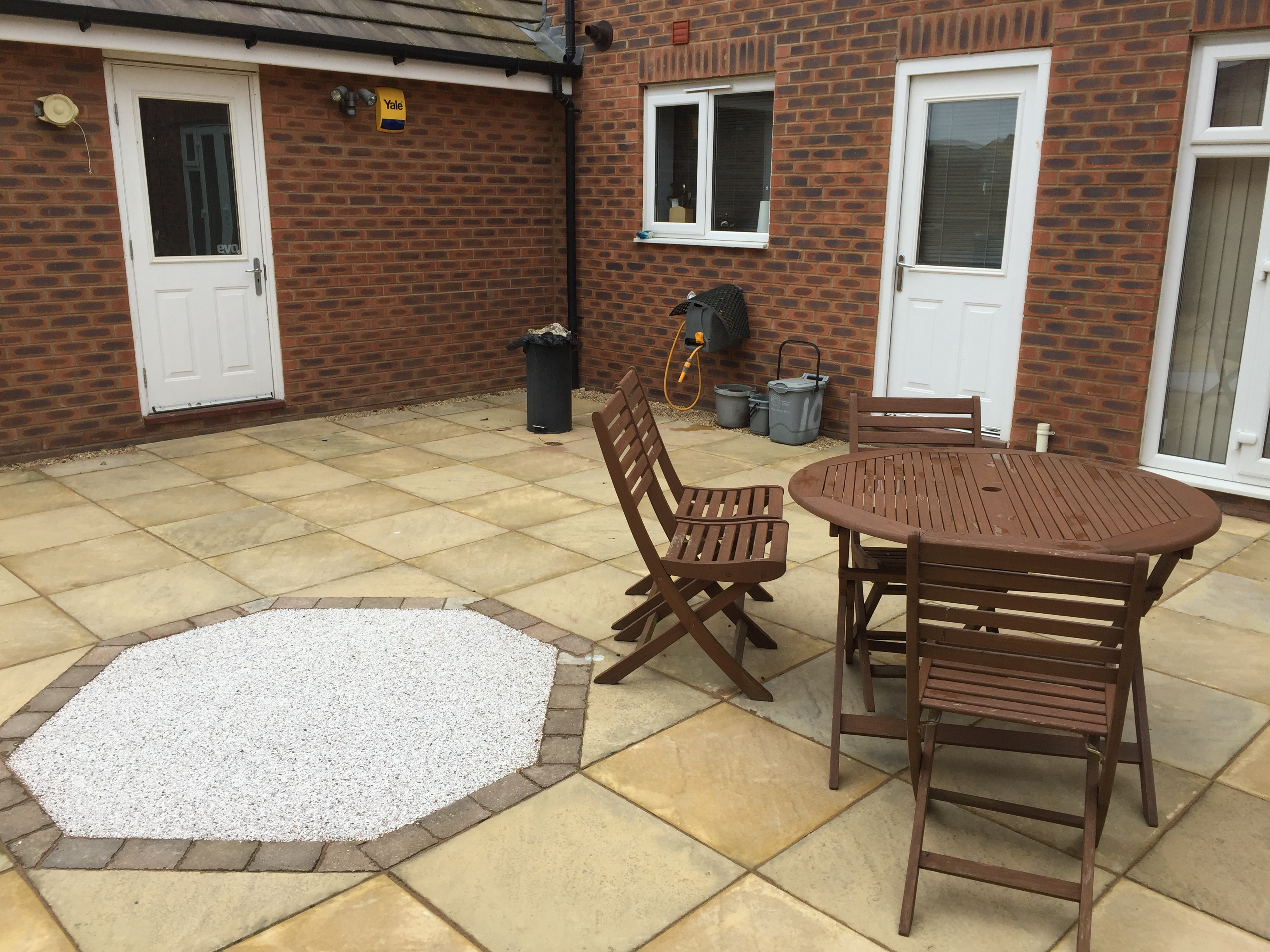 Resin Decoration in Patio Peterborough