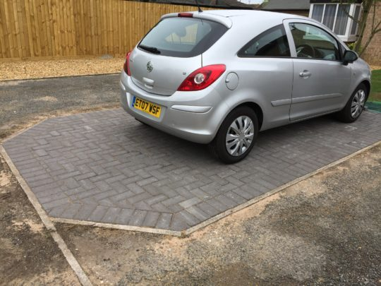 Block Paving Gunthorpe Peterborough