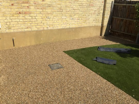 Resin Garden Install in Thorney
