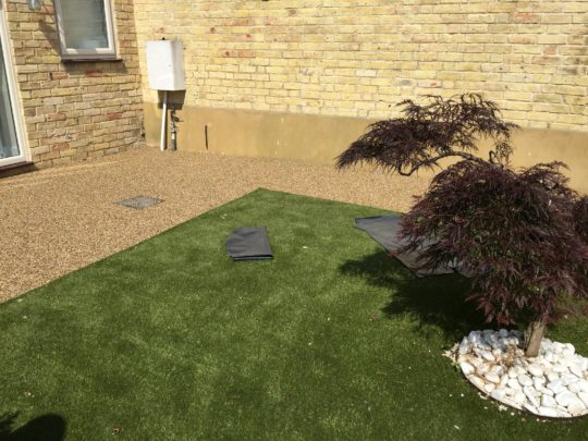 Resin Bound install in Thorney Peterborough