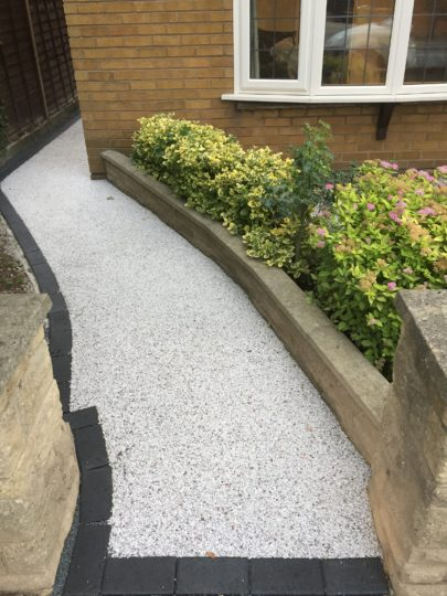 Resin Bound Pathway Install in Werrington